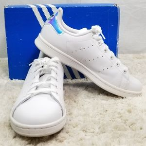 Women Stan Smith Adidas Iridescent Sneakers Size 7